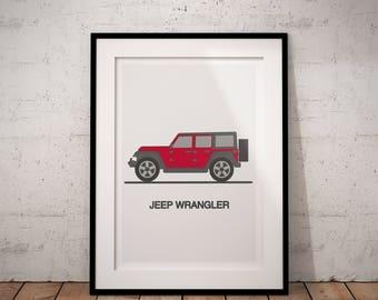 Jeep Wrangler Print