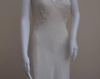 Vintage Beaded Lace Dress
