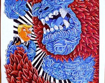 King Kong VS Trump