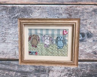 """Personalised """"Jellycat"""" rabbit picture"""