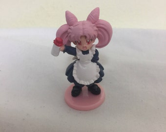 Vintage Sailor Moon HGIF ChibiUsa Maid Costume Figure
