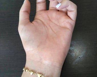 Heart Goldfield Bracelet