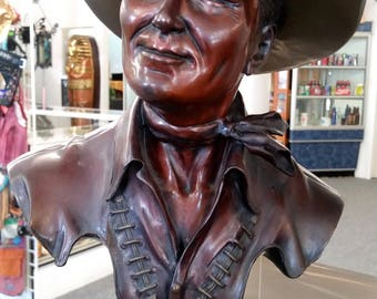 Gene Autry Bronze Sculpture