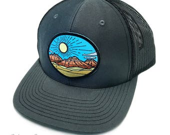 Desert Red Rocks : Trucker Hat
