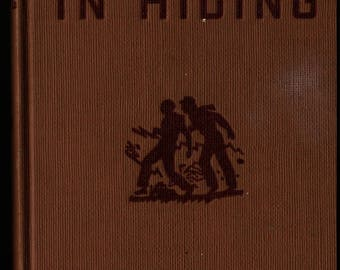 A Figure In Hiding + Hardy Boys + Franklin W. Dixon + Paul Laune + 1937 + Vintage Mystery Book