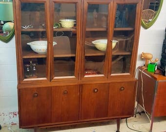 mid century modern dining room hutch. Mid Century Modern Hutch China Cabinet Dining Room  SHIPPING NOT INCLUDED century hutch Etsy