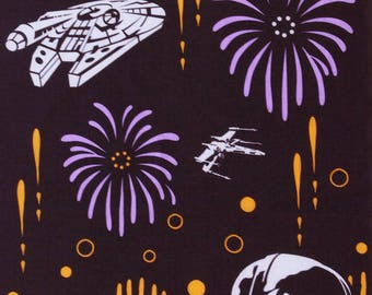 Japanese tenugui Darth Vader fabric, star wars tenugui, wall decoration, star wars wall art, star wars fabric,