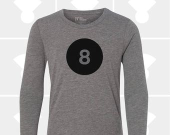 8th Birthday - Long Sleeve Shirt