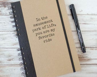 Girlfriend Gift Journal Notebook Gift for Boyfriend Gift for Couples AP1