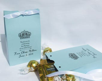 Baptism Favors - Christening Party - Religious Favor - Baby Boy Christening - Favors for Baptism - Baptism Favor Box - Christening Favor Box