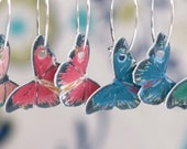Lightweight butterfly earrings
