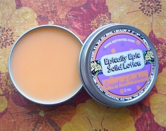 Grapefruit Gardenia Many Purpose Solid Lotion - Limited Edition It's Still Summer Scent