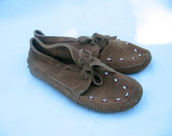 vintage Minnetonka moccasin booties boots 8.5