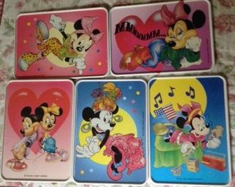 Mickey/Minnie Mouse/Donald Duck WaltDisney metal postal cards,Walt Disney metal photo cartoon,Mickey/Minnie/Donald Duck metal cartoon cards