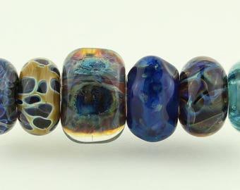 Orphans #2036 Artisan boro beads by JRG