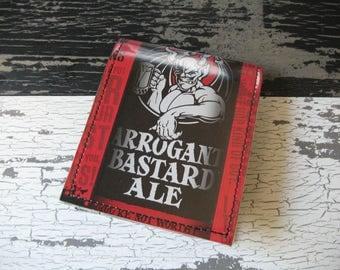 Stone Arrogant Bastard Bi-Fold Beer Wallet