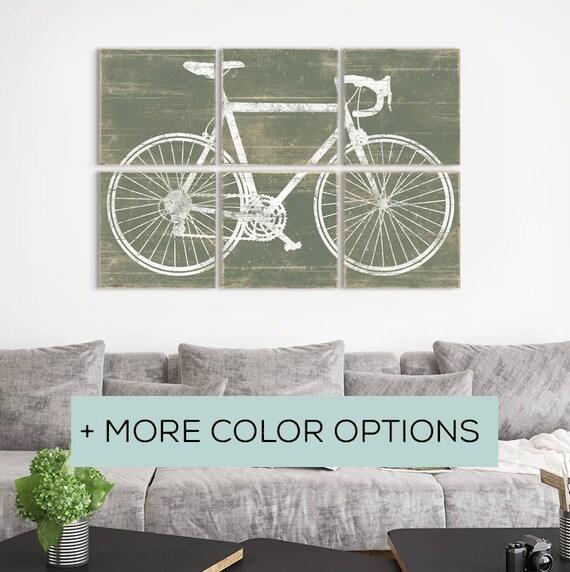 Bike Lovers Gifts Best Bicycling Gift Retro Bike Wall Art