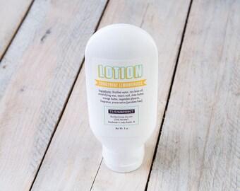 Tangerine Lemongrass Lotion   4 oz Lotion   Stocking Stuffer Lotion   Handmade Lotion   Thick Lotion   Lotion