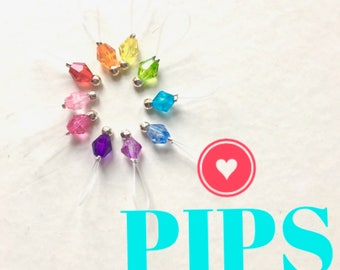 PIPS - Knitting Stitch Markers snag free