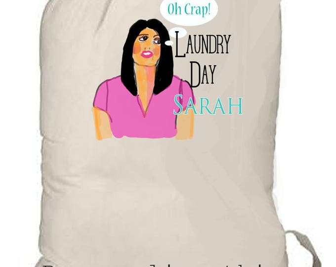 laundry bag, custom laundry tote, summer beach bag, customized backpack, kids summer camp bag, graduation gift, grad gift, college laundry