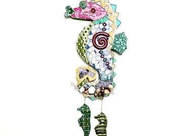 Sea Horse Mosaic