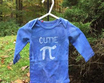 Pi Day Baby Bodysuit, Blue Pi Day Bodysuit, Cutie Pi Baby Bodysuit, Boy Pi Day Bodysuit, Girl Pi Day Bodysuit, Math Baby Gift (6 months)