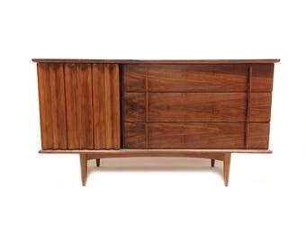 Vintage Mid Century Credenza In Wood