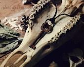 Secret Keeper - Skeleton key necklace, organic hemp, knot magic, knot spell