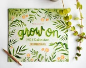 """RESERVED for WIWIURKA / One 2018 Planner """"Grow On"""" , One Be Yourself Guided Journal"""