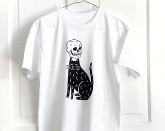 Skull Cap - Screen Printed T-Shirt