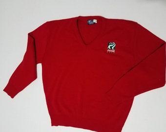 Vintage Coca Cola Size XL Golf Sweater