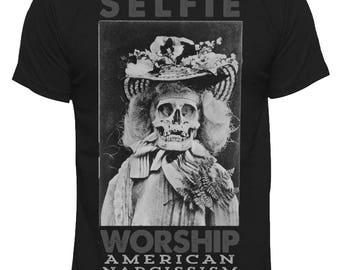 Selfie Worship (American Narcissism) Tee
