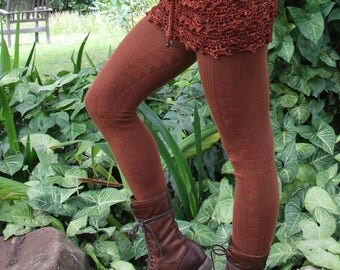Crochet Woolen Mini Pixie Skirt Size XS/S.