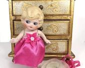 Bisque Doll Google Eyes Side Glancing Flapper Kewpie Vintage Frozen Charlotte