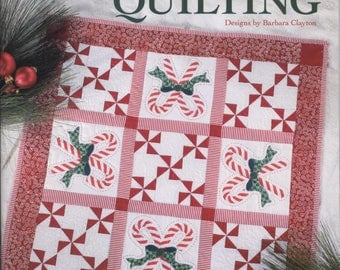 Merry Christmas Quilting by Barbara Clayton - TIB12500