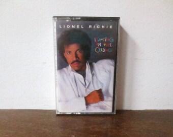 Vintage 1984 Lionel Richie, Dancing on the Ceiling Cassette Tape