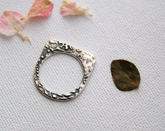 Sterling Silver Flat Band Ring