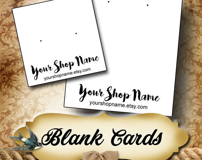BLANK CARDS•Custom Tags•Labels•Earring Display•Clothing Tags•Custom •Boutique Card•Tags•Custom Tags•Custom Labels