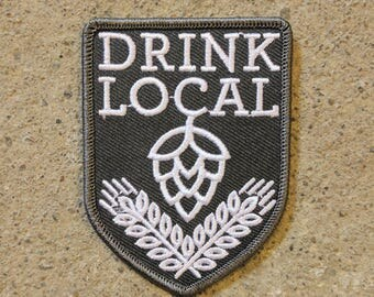 Drink Local patch