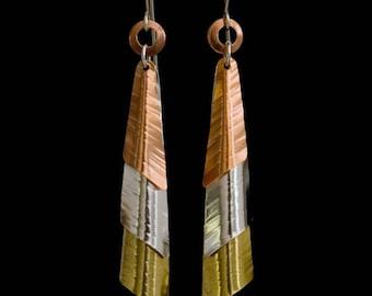 Copper, Silver, Brass 'Tri-metal Angel'