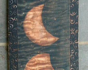 Moon, moon phases, full moon art