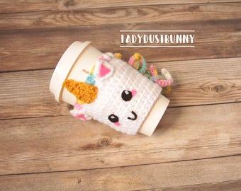 Unicorn Coffee Mug / Unicorn Gifts / Unicorn Coffee Sleeve / Christmas Gift for Wife / Christmas Gifts for Coworkers