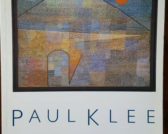 Paul Klee The Museum of Modern Art MoMA NYC 1987 Book