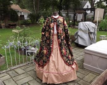 Ladies Civil War Paletot Reenacting Cloak Size XL
