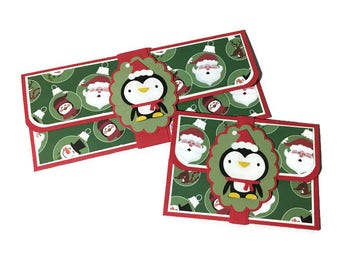 Christmas money card, Christmas card, cash gifting, gift card holder, money holder, cash envelope, Christmas envelope, money envelope