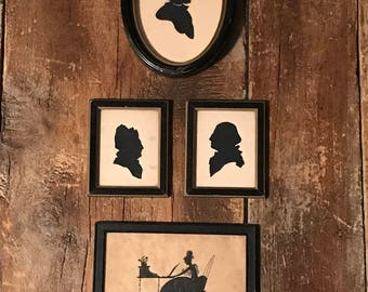 Reproduction Set of Silhouettes