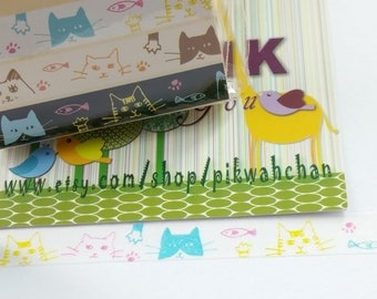 Funny Cat Washi Tape (10mm X 7M)