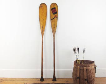 antique canoe paddles,vintage paddles,oars,wood paddles,Adirondack,lake house,vintage paddle,rustic,Old Town Canoe,wood,wooden oars,boat