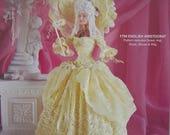 Paradise Publications Crochet Collector Costume Fashion Doll Pattern 1790 English Aristocrat Volume 28 original pattern
