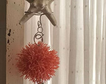 Starfish wind chime sand dollar sea life mobile